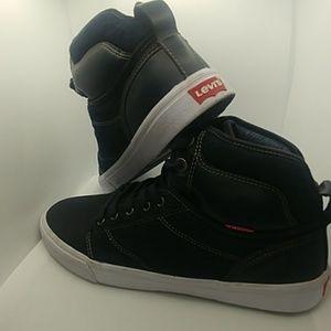 Levi High Top Sneakers - Men's Size 10/5